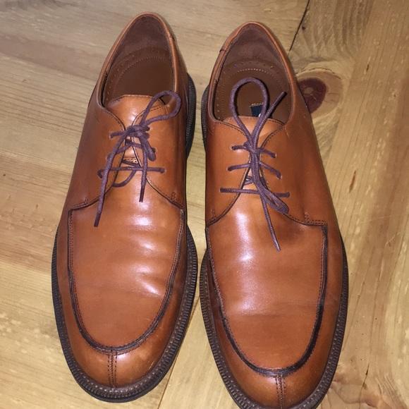 e30eb06a Ecco Mens Toe Tie Oxfords Size 48 (Size 14) GUC